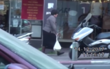 A private investigator tracked Malka Leifer as she did shopping in Bnei Brak on December 14, 2017.