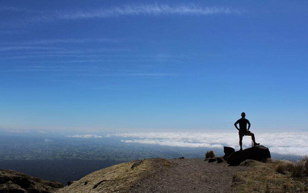 Jason Agatho at Mount Taranaki, New Zealand. Photo entered by Sharon Flitman.