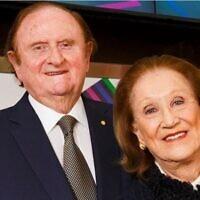 John and Pauline Gandel.