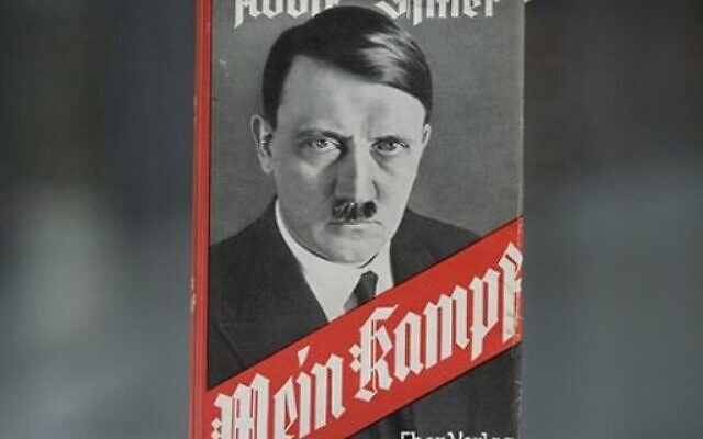 A Melbourne bookstore said it would remove copies of Mein Kampf from its shelves.