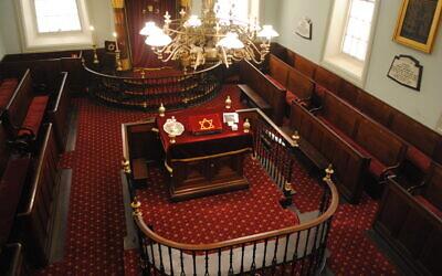 The historic Hobart synagogue retains its original splendour. Photos: Danny Gocs