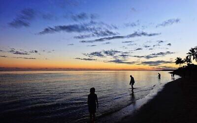 Zvi Civins entered this sunset photo taken at Sigatoka, Fiji.