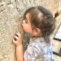 HOLIDAY FINALIST E: Ezra Esterman at the Kotel, Jerusalem. Photo entered by Ari Esterman.