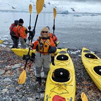 Debra Dascal  is set to kayak in Antarctica.