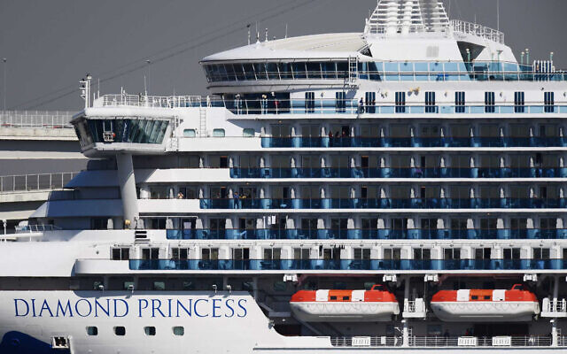 The Diamond Princess cruise ship. Photo: Twitter