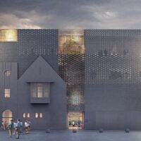An artist's impression of the new Jewish Holocaust Centre.