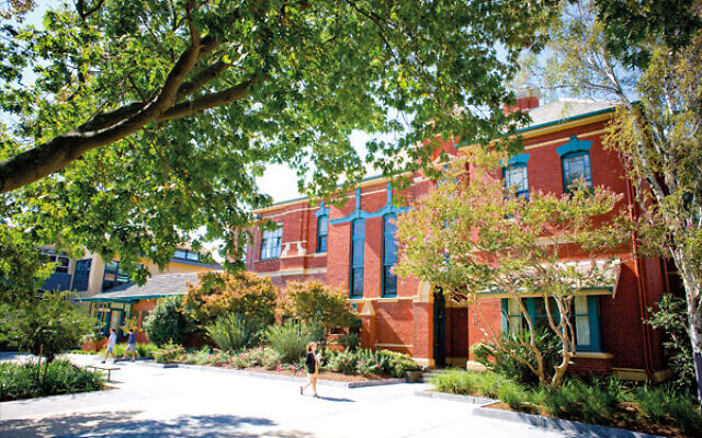 Melbourne's Carey Baptist Grammar School has apologised for publishing an antisemitic message.