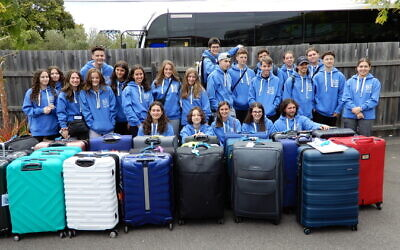Australian students preparing for the year 10 Israel visiting program.