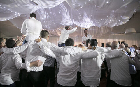 It may be a while before Jewish weddings are again celebrated in the traditional way. Photo: Nadine Saacks