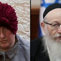Malka Leifer and Yaakov Litzman.