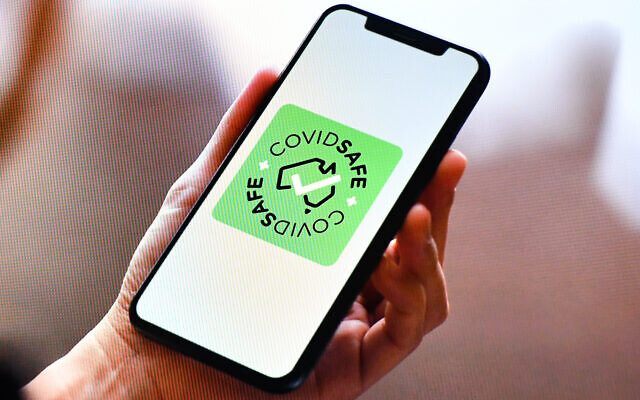 The COVIDSafe app. Photo: AAP Image/Mick Tsikas