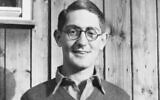 Private Lawrence Saywell in 1941 at a POW camp in Moosburg, Germany. Photo: AWM