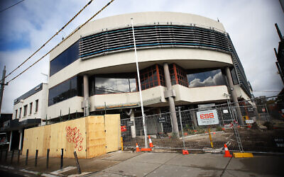 Refurbishment and security upgrades to Beth Weizmann. Photo: Peter Haskin