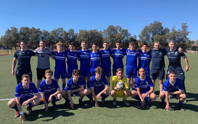 The Hakoah U16 boys' are the 2019 Maccabi NSW Team of the Year.