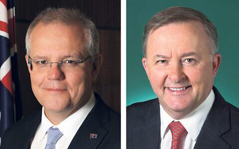 Prime Minister Scott Morrison and Opposition Leader Anthony Albanese.