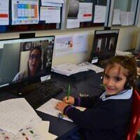 Year 1 Sholem Aleichem student Shelly Yomtovyan is ready to resume regular learning.