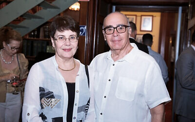 Irina and Vladimir Chersky.