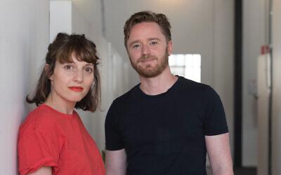 FOJAM artistic director Lior Albeck-Ripka (left) and festival producer Jesse Lubitz.