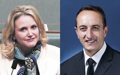 Melissa Parke and Dave Sharma.
