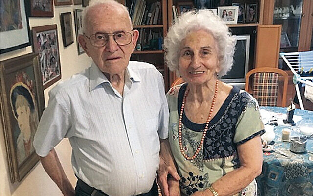 Norman Lippa and Mickey Michalow recently reunited 72 years after they dated.
