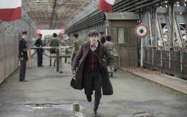 Marcel Marceau (Jesse Eisenberg) makes the life-changing decision to help Jewish orphans in Resistance.