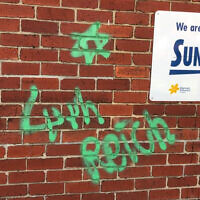 The vandalism at Middle Park Kindergarten in Albert Park.