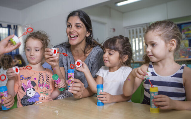 Among other projects, WIZO Australia supports day care centres in Tel Aviv, Ra'anana, Rishon Le Tzion and Hatzor Air Force Base, and a family centre in Modi'in.