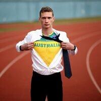 Australian Athletics Team co-captain Steve Solomon. Photo: Phil Hillyard