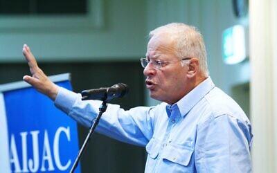 Ehud Yaari. Photo: Peter Haskin
