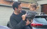 Josh Burns and daughter Tia.