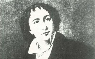 Isaac Nathan as a young man - Courtesy National Library of Australia
