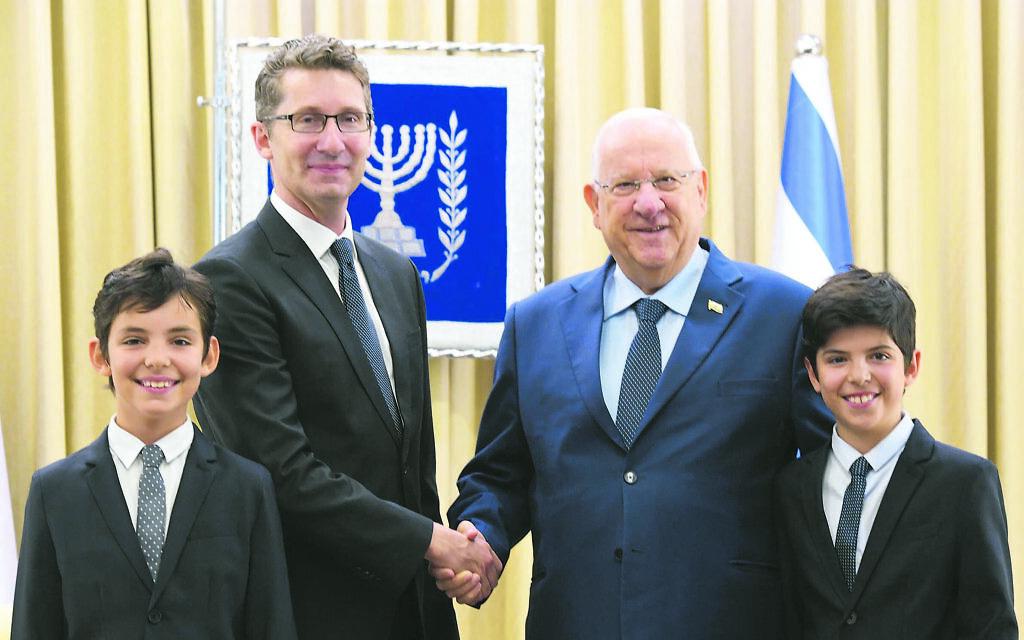 Shalom and farewell, ambassador
