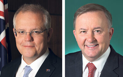 Prime Minister Scott Morrison and Opposition Leader Anthony Albanese.