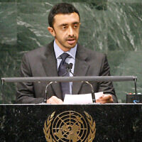 General Assembly - 65th Session: General Debate 22nd Plenary Meeting  His Highness Sheikh Abdullah Bin Zayed Al-Nahyan, Minister for Foreign Affairs of United Arab Emirates