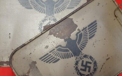 Some of the Nazi military artefacts up for auction.