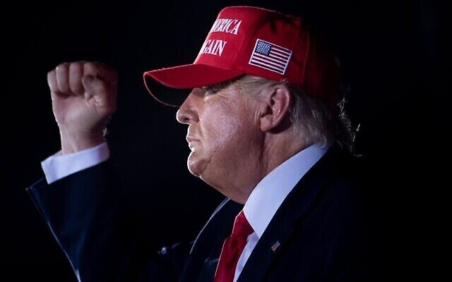 Donald Trump. Photo: AFP/Brendan Smialowski