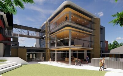 An artist's impression of the new building. Image: Supplied
