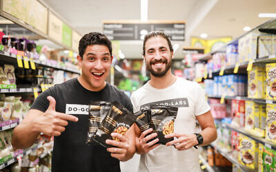 Brothers David (left) and Daniel Rifkin started Do Good Labs, creating healthy snack food with a strong mental health message.