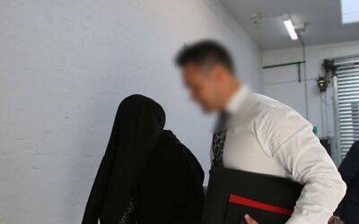 A police joint counter terrorism team arresting the man, 18, in Albury. Photo: NSW Police