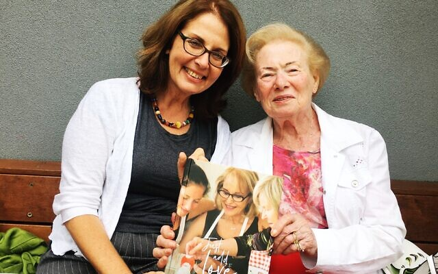 Irris Makler with Ruth Hampel, one of the survivors featured in Just Add Love.