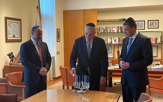 From left: Josh Frydenberg, Scott Morrison and Julian Leeser.