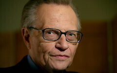 "Larry King attends a screening of the environmental documentary ""Planet in Peril,"" Monday, Oct. 8, 2007, in New York. (AP Photo/Diane Bondareff)"