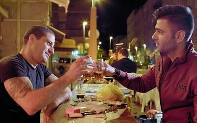 Jewish and Arab chefs collaborate on dishes in the documentary Breaking Bread.