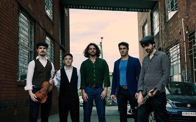 From left: Ben Adler, Yiss Mill, Maximillian Alduca, Paul Khodor, Ben Samuels. Photo: Sebastian Garcia