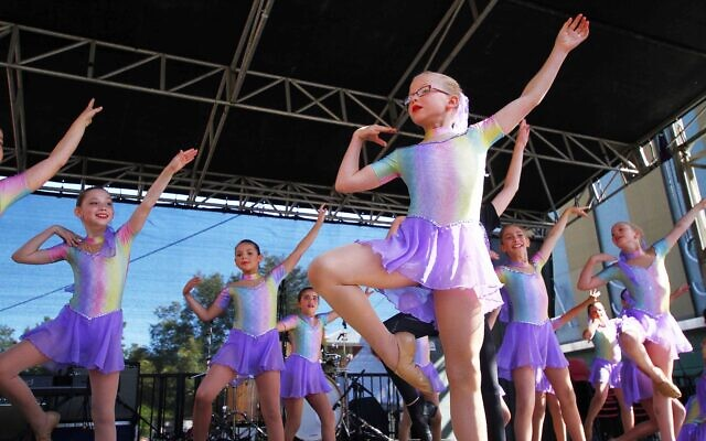 Young dancers entertain at a previous In One Voice. Photo: Peter Haskin