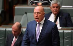 Peter Dutton. Photo: AAP image/Mick Tsikas