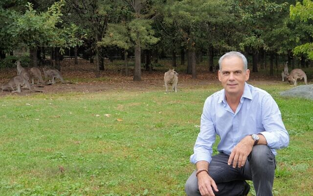 Jonathan Peled is Israel's interim ambassador to Australia.