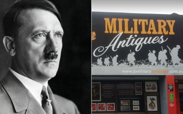 A number of items purportedly owned by Adolf Hitler have been made available to the public by JB Military Antiques.