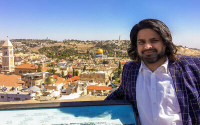 Liberal Party WA policy committee chairman Sherry Sufi in Jerusalem. Photo: Facebook