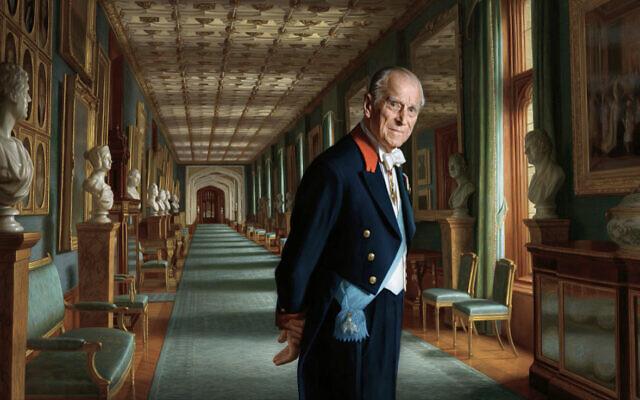 Ralph Heimans' 2017 portrait of Prince Philip. Photo: Buckingham Palace